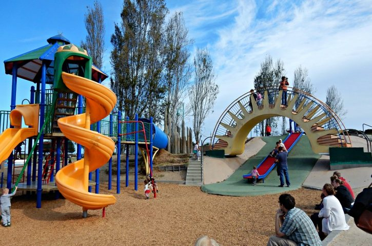 What do kids need in a playground?